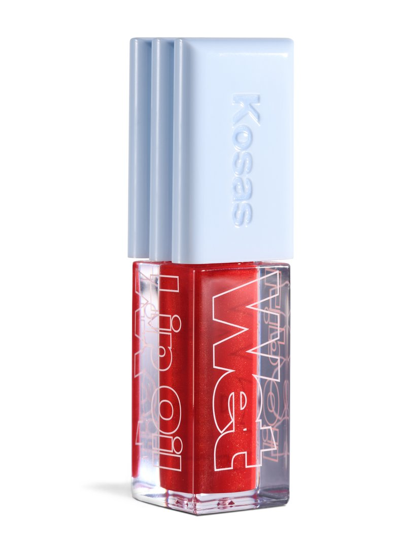 Wet Lip Oil Gloss Jaws Hot Blood Red