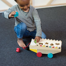 Alligator Wood Shape Sorter & Pull Toy