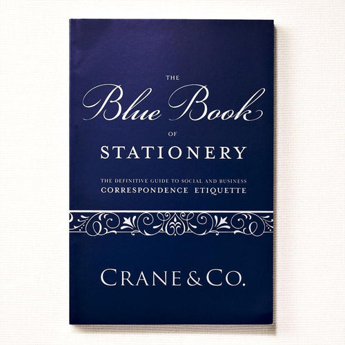 Blue Book of Stationery