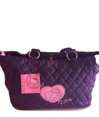 Borsa Hello Kitty blu