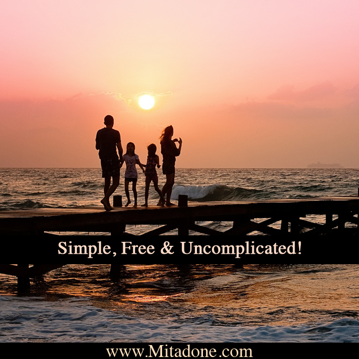 Simple, Free & Uncomplicated!