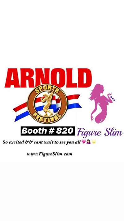 Just weeks away till the Arnold Fit Expo !