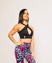 * NEW & LIMITED The Pink Cheetah Biker Shorts