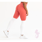 NEW* Bootyful Scrunch Leggings in Salmon Pink