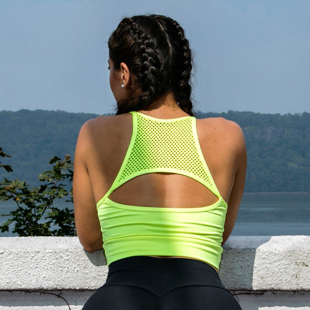 The Mesh Sports Top