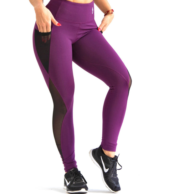 *NEW* The Performance LEGGINGS in Plum
