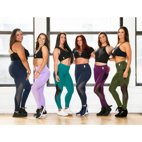 *NEW* The Performance LEGGINGS in LAVENDER, BLACK OR OLIVE GREEN