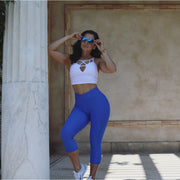 *NEW* The Brazilian Crunch V Waist CAPRIS