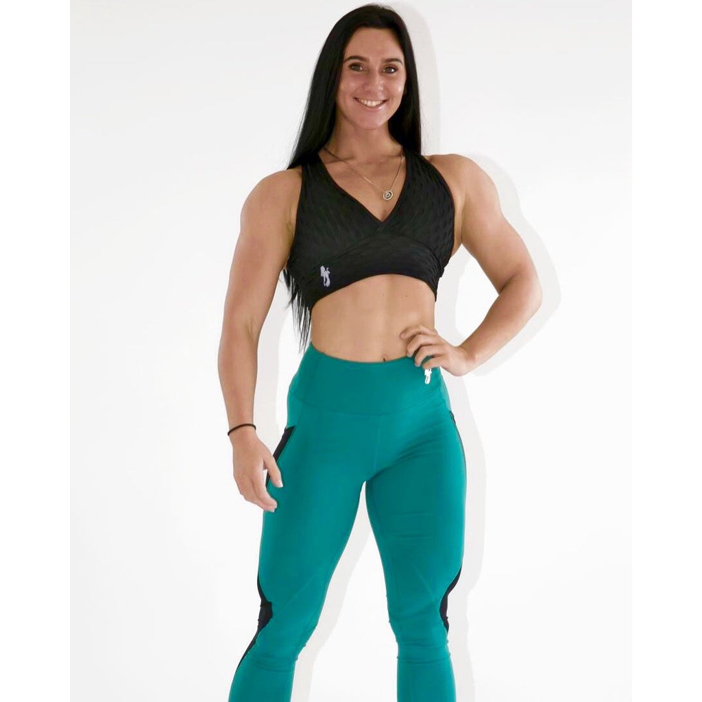 *NEW* The Performance LEGGINGS in Teal