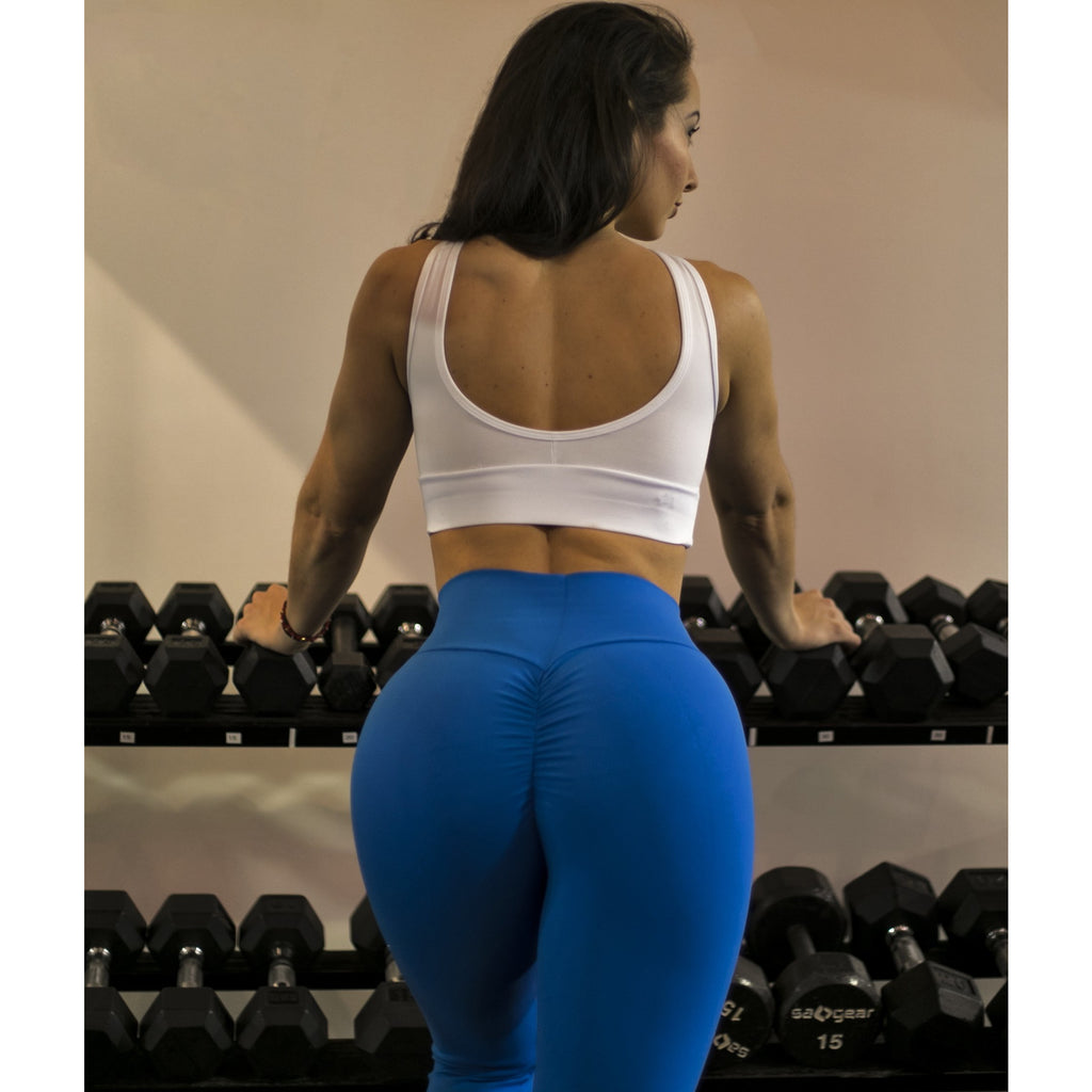 *NEW* Bootyful Scrunch Leggings in Royal Blue