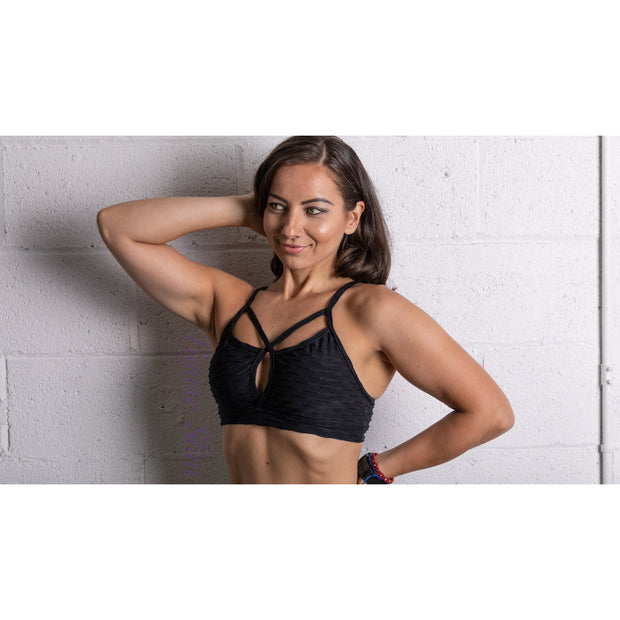 NEW *The Vixen Sports Bra- Brazilian Crunch fabric
