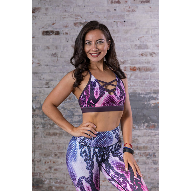 NEW *The Python Sports Bra