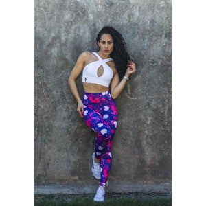 * NEW & LIMITED The Floral Goddess High Waist Leggings
