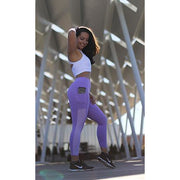 The Performance Capris in Lilac, Coral Breeze, White, Violet, Mint, Grey, Black