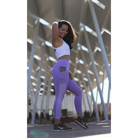 *NEW* The Performance Capris in Violet