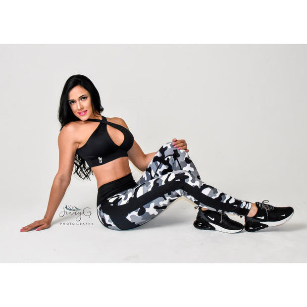 * NEW & LIMITED The Bombshell Classic Camo High Waist Waist Leggings