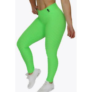 *High Waist Brazilian Crunch in Neon Color