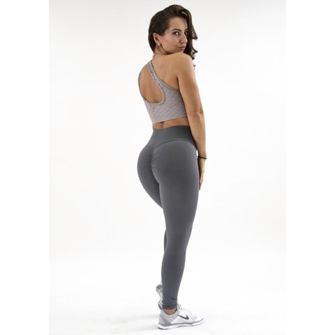 *NEW* Bootyful Scrunch Leggings Khaki Beige