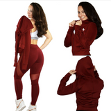 *Diva Mesh Leggings in BURGUNDY