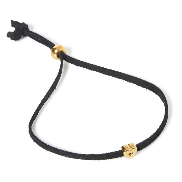 Hilliebags Leather Bracelet - Black - Birambi