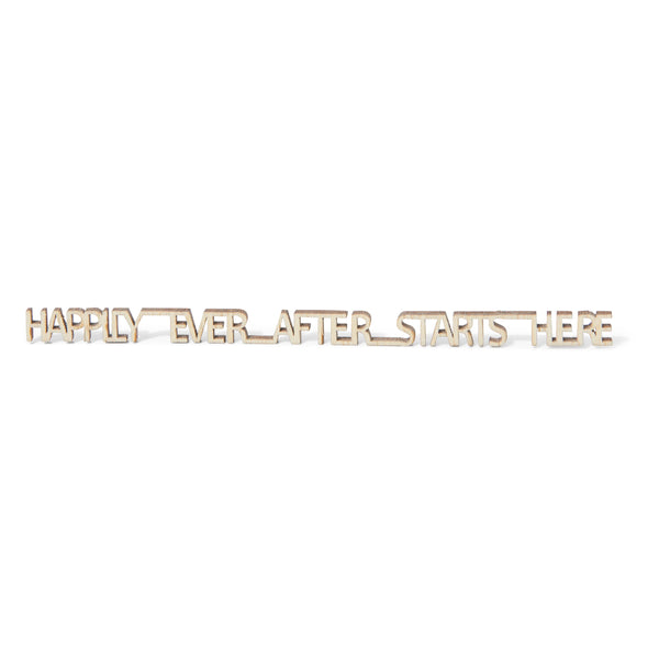 Happily ever after starts here - Birambi