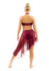 Asymmetrical Skirt - Patrick J Design.com, dance wear, costum costumes, dance