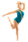 Waves Leotard - Patrick J Design.com, dance wear, costum costumes, dance