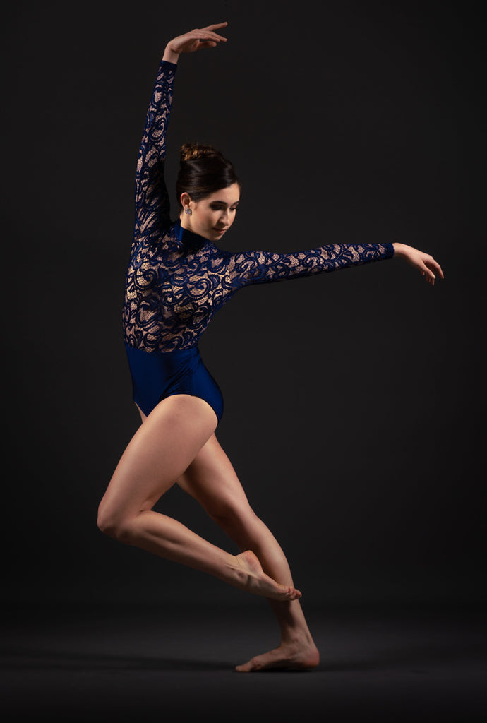 Amador High Waisted Leotard - Patrick J Design.com, dance wear, costum costumes, dance