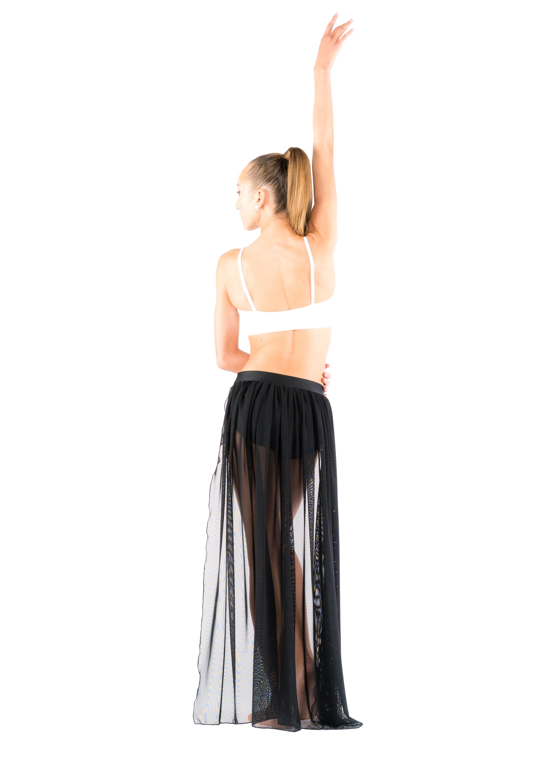 Floor Length Back Skirt - Patrick J Design.com, dance wear, costum costumes, dance