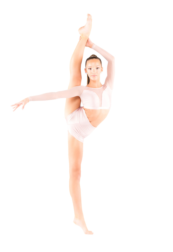 Cayla High Waisted Shorts - Patrick J Design.com, dance wear, costum costumes, dance