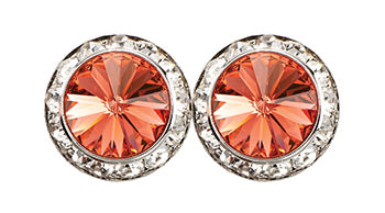 Padparadscha Earrings - Patrick J Design.com, dance wear, costum costumes, dance