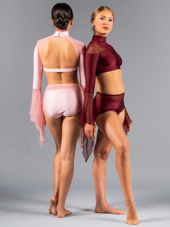 Scarlett Top - Patrick J Design.com, dance wear, costum costumes, dance