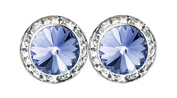 Tanzanite Earrings - Patrick J Design.com, dance wear, costum costumes, dance
