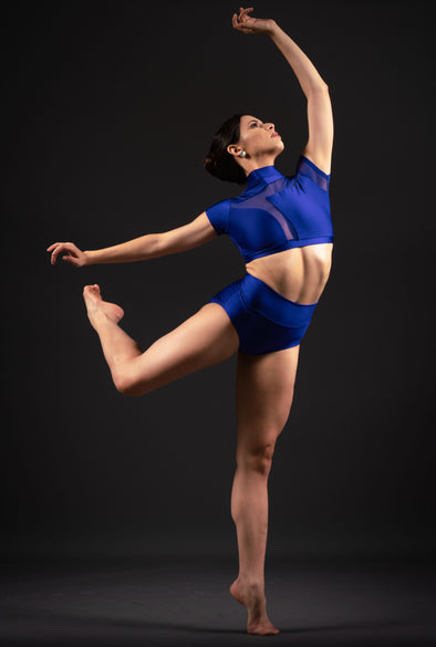 Valencia Top - Patrick J Design.com, dance wear, costum costumes, dance