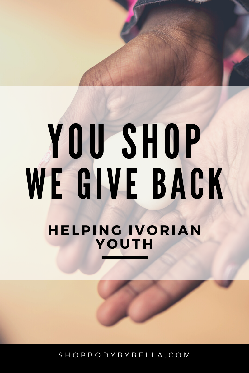 You Shop, We Give Back!