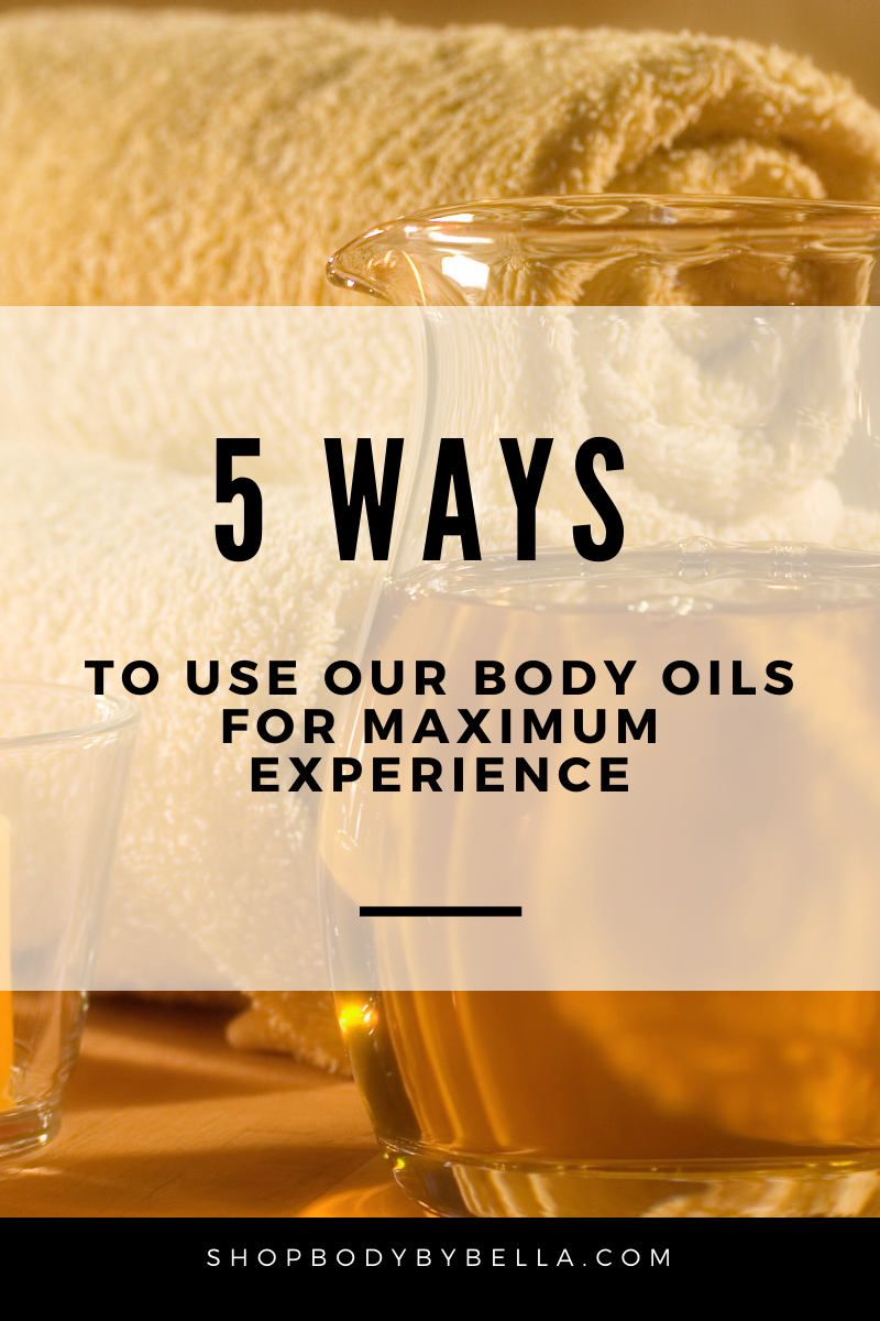 5 Ways to Use Our Body Oils