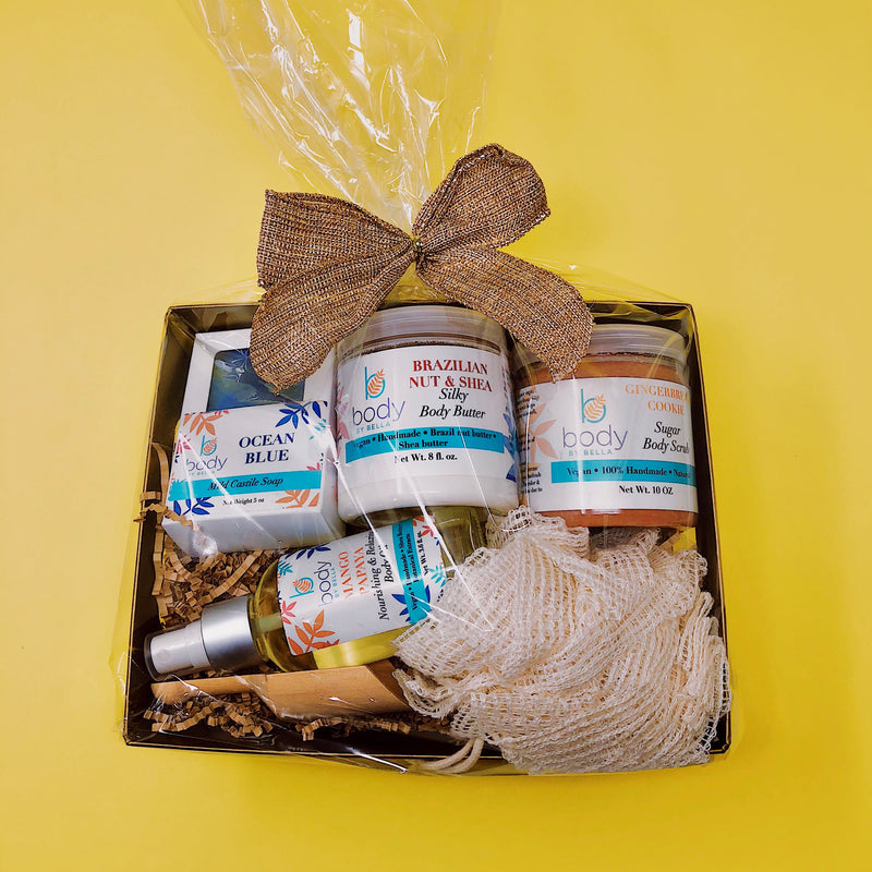 Spa Day Gift Basket