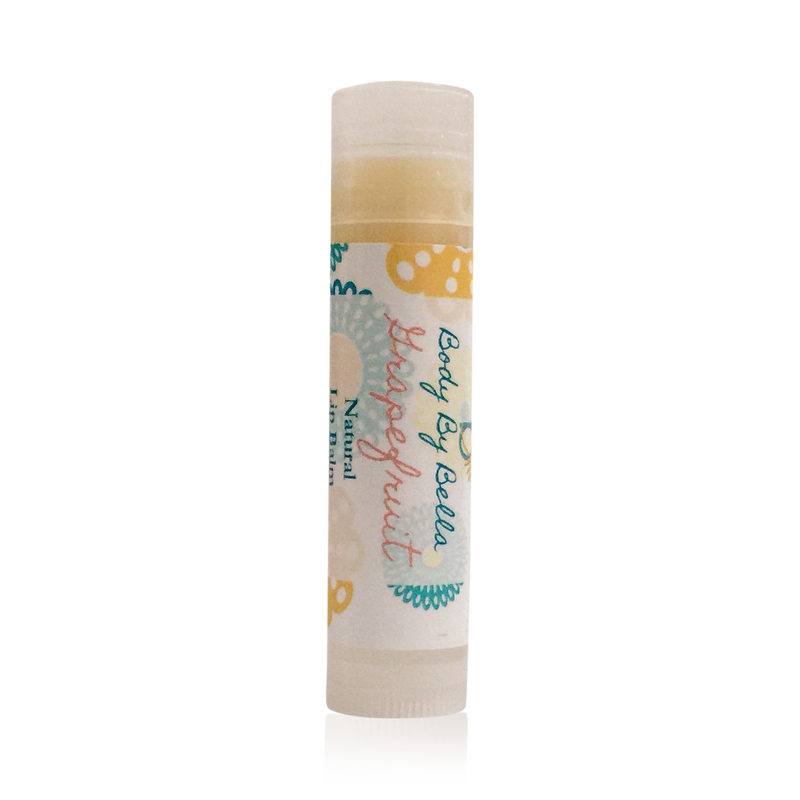 Grapefruit Lip Balm