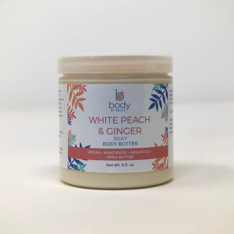 White Peach and Ginger Silky Body Butter