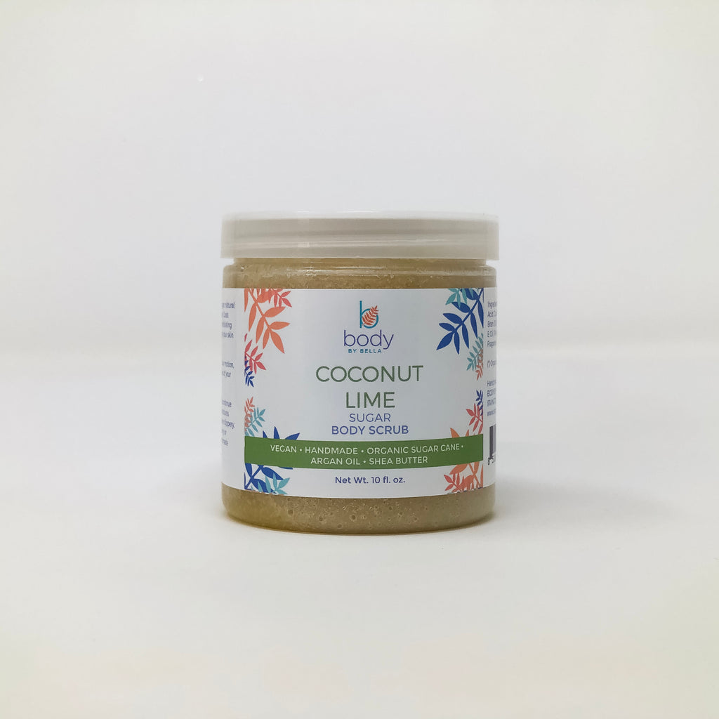 Coconut Lime Sugar Body Scrub