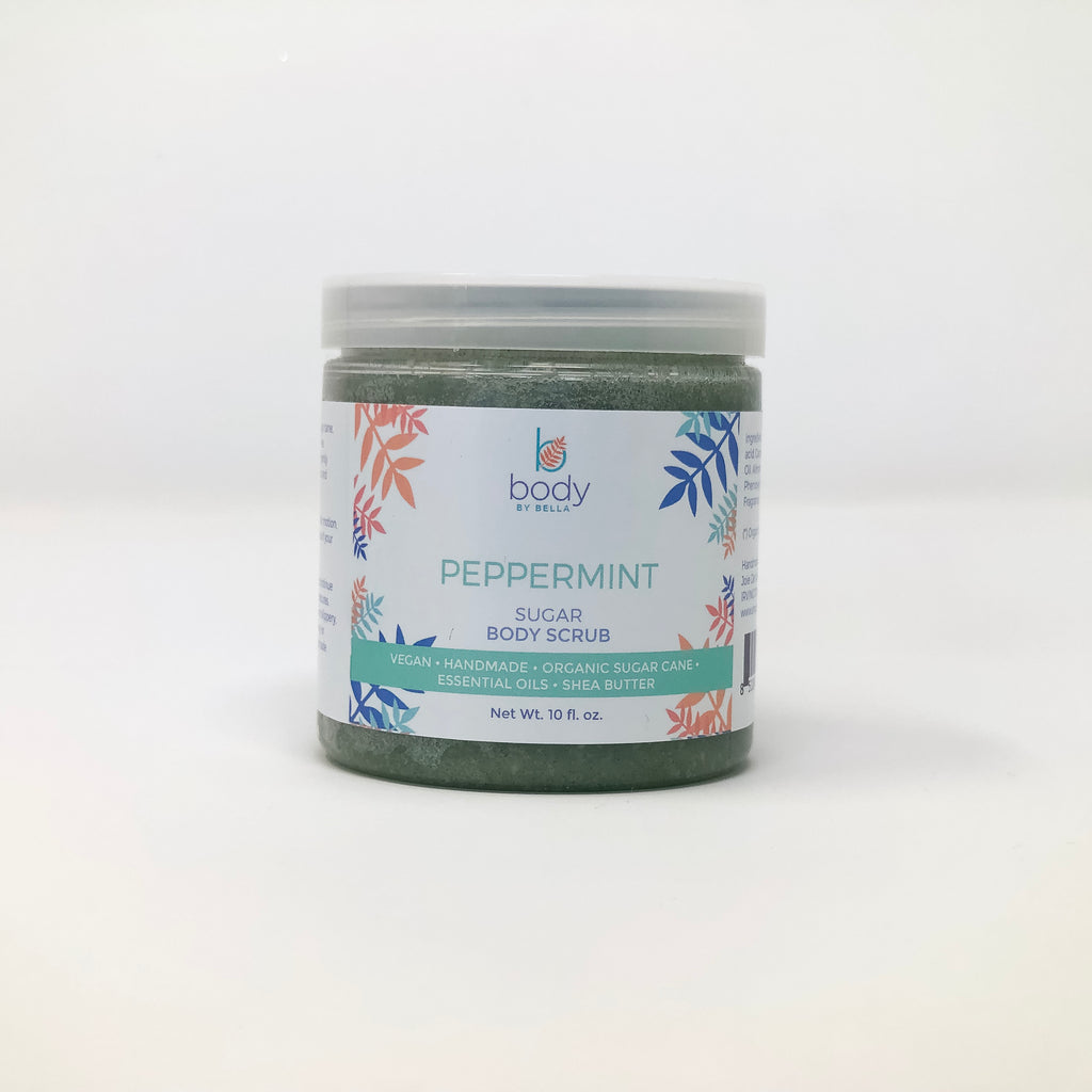 Peppermint Sugar Body Scrub