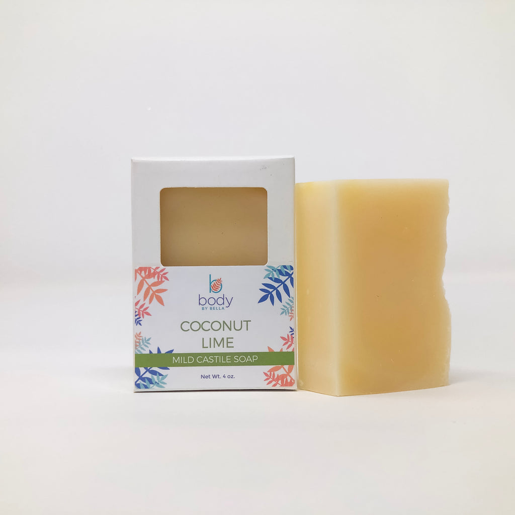 Coconut Lime Castile Soap