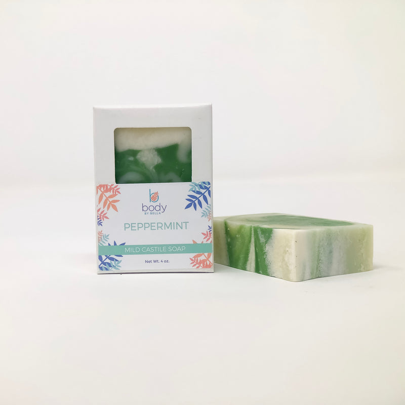 Peppermint & Tea Tree Oil Castile Soap