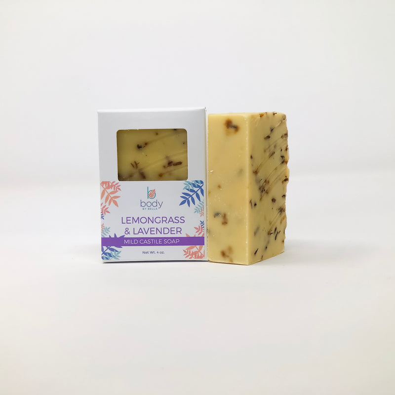 Lemongrass and Lavender Castile Soap