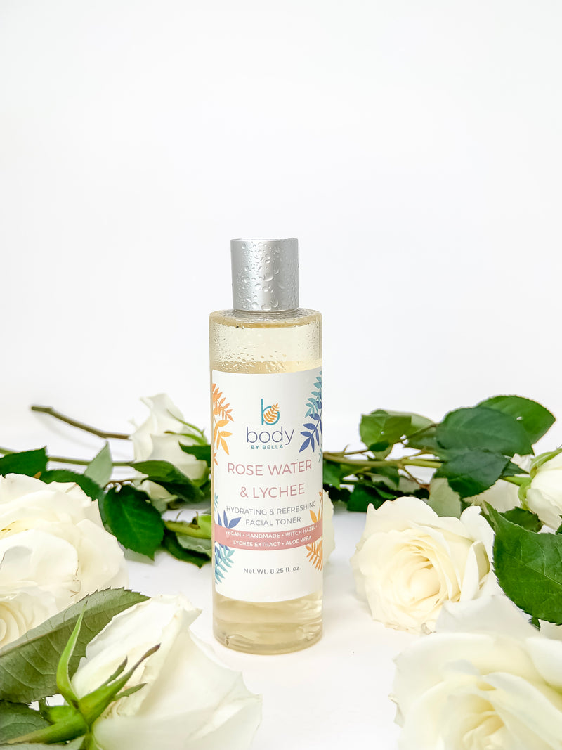 Rose Water and Lychee Extract Toner