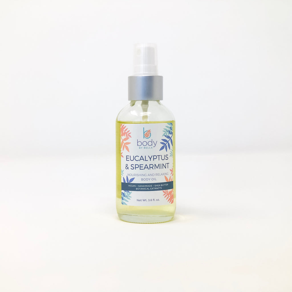 Eucalyptus & Spearmint Body Oil