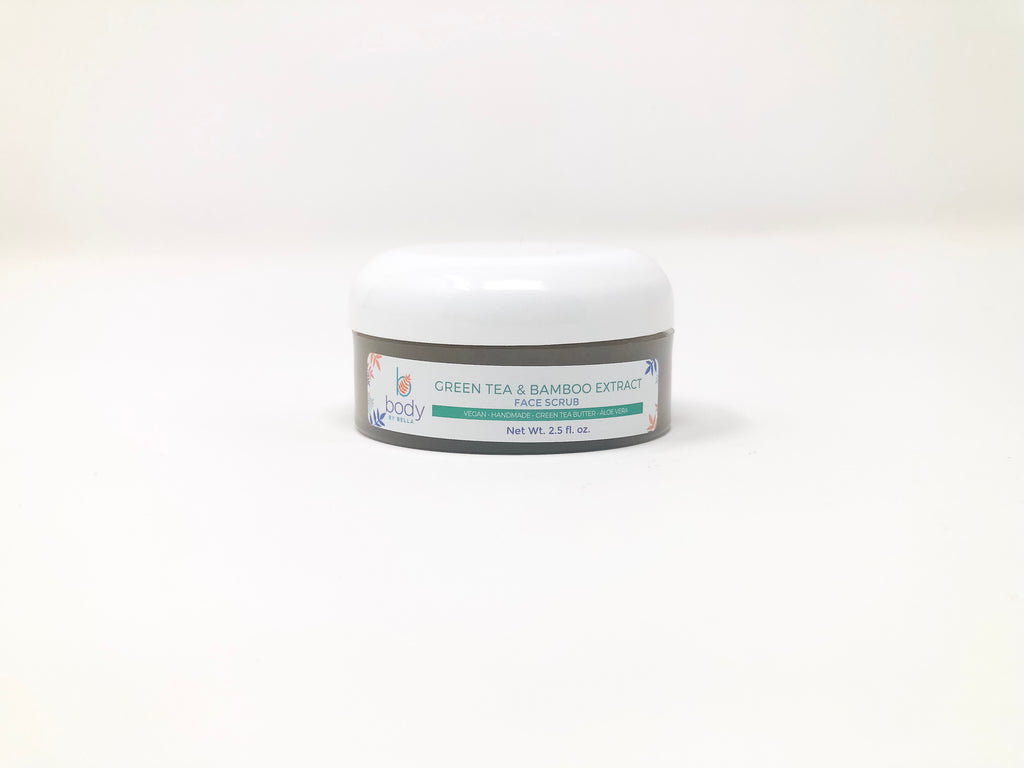 Green Tea & Bamboo Extract Face Scrub