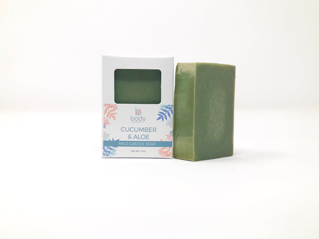 Cucumber and Aloe  Castile Soap