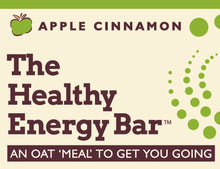 Load image into Gallery viewer, THE Bar - APPLE CINNAMON - The Healthy Energy Bar (six-pack/12 ounces)