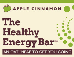 THE Bar - APPLE CINNAMON - The Healthy Energy Bar (six-pack/12 ounces)